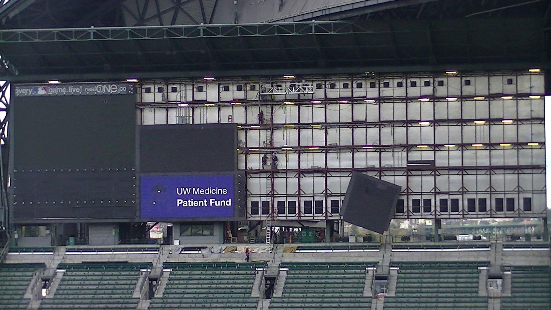 Safeco Field Scoreboard Safeco Field Scoreboard is
