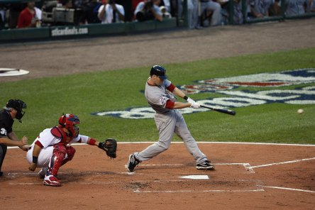 Jason Bay at the plate during the 2009 All-Star Game in St. Louis. (Getty Images)