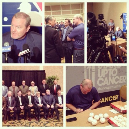 Mariners Manager Eric Wedge during his media day in Nashville.