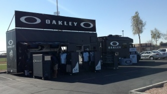 The Oakley store on wheels.