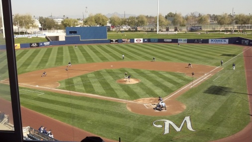 Maryvale Baseball Park.