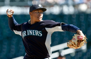 Taijuan Walker threw 2.0 scoreless innings.  (AP Photo/Ross D. Franklin)