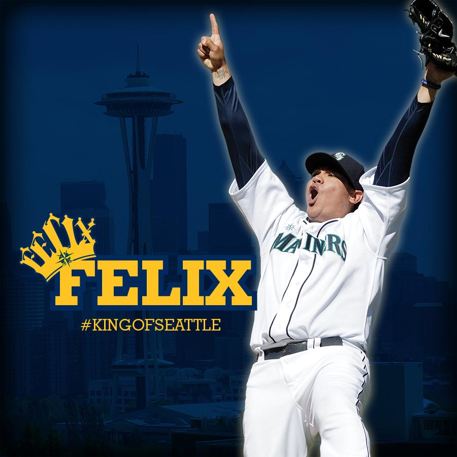 King Felix Wallpaper