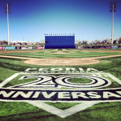Opening Day of Cactus League play.