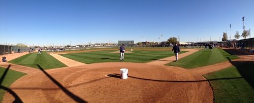 It was nearly a perfect day as the Mariners took the field for the first time in 2013.