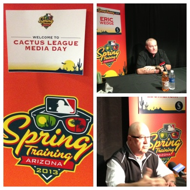 Cactus League Media Day.