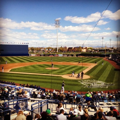 Cactus League Baseball!
