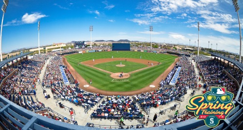 The Mariners will be celebrating their 20th spring at Peoria Stadium. (Joseph Pun/City of Peoria)