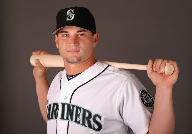 Mike Zunino poses during photo day (Getty Images)