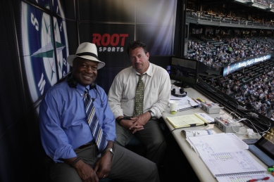 Dave Sims and Mike Blowers will call tomorrow's TV game vs. the Colorado Rockies.