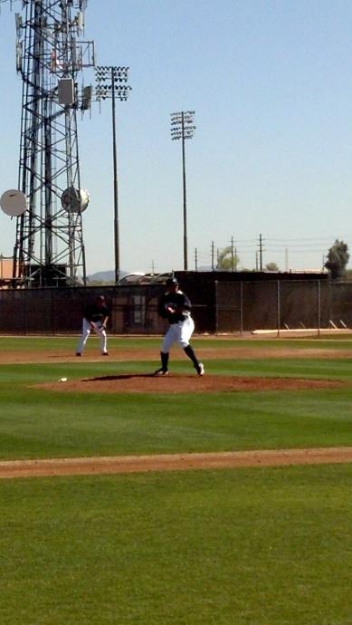 Erasmo Ramirez pitching.