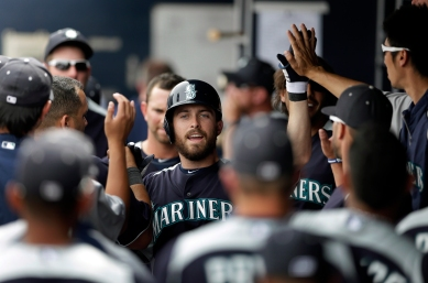 Dustin Ackley went 2-for-4 with a triple today.