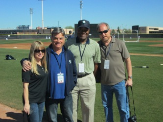 Shannon Drayer, Rick Rizzs, Dave Sims and Greg Johns.