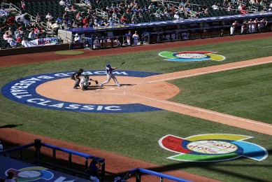 Alex Liddi was 2-for-3 in Italy's 6-5 win over Mexico. (Getty Images)