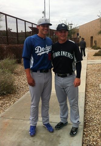 Corey and Kyle Seager.