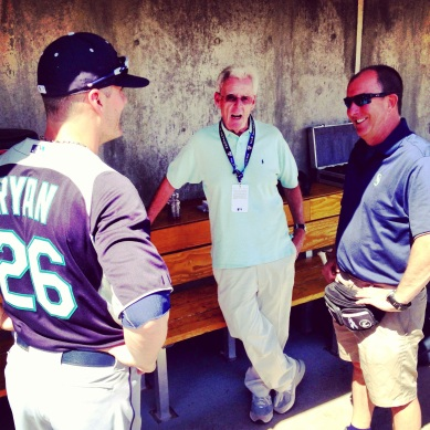 Brendan Ryan, Peter Gammons and Rick Griffin.