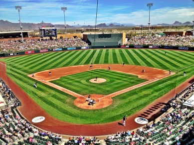 Beautiful Salt River Fields at Talking Stick.