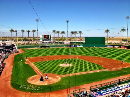 The Mariners beat the Reds 16-0 on Monday at Goodyear Ballpark.