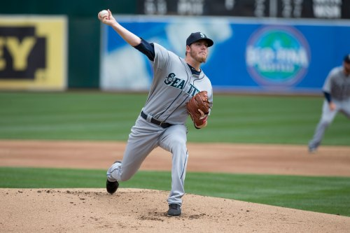 Brandon Maurer made his Major League debut today vs. the Oakland A's. (Getty Images)