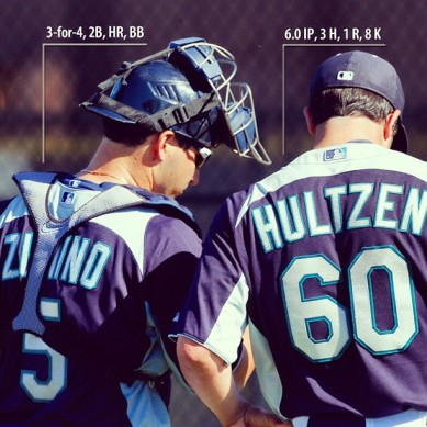 Mariners prospects Mike Zunino and Danny Hultzen had great 2013 debuts for the Tacoma Rainiers.