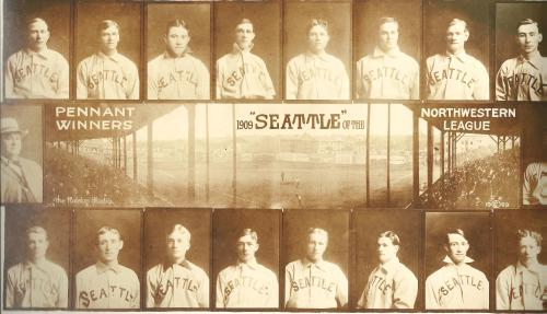 The 1909 Northwestern League Champions