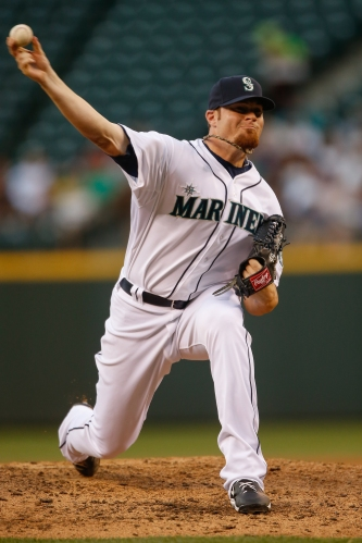 Blake Beavan threw 6.2 scoreless innings of relief vs. the Yankees.