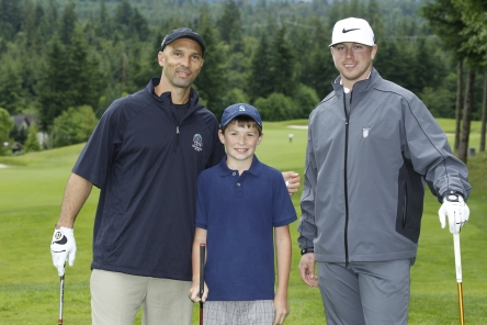 Raul Ibanez co-hosted this year's Mariners Care Cystic Fibrosis Golf Tournament, one of his many community activities.