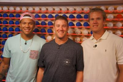 Taijuan Walker at the MLB Fan Cave.
