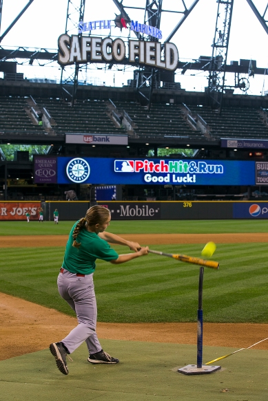 12-year old Hayley Loffer of Hayden, Idaho, will represent the Mariners at the Pitch, Hit & Run National Finals at All-Star Week at Citi Field.