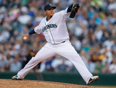 Felix Hernandez goes for his 12th win tonight vs. the Blue Jays.