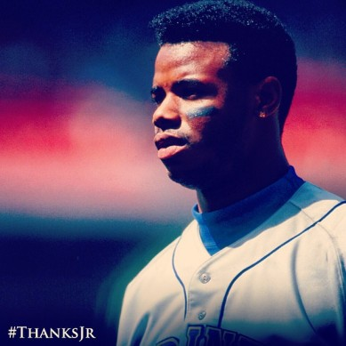 Tag your photos on Twitter and Instagram with #ThanksJr