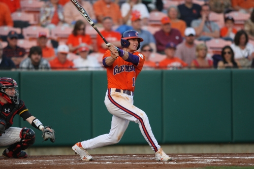 Brad Miller and Jeff Baker of the Rangers were both All-Americans at Clemson.