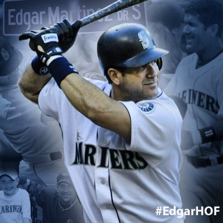 Edgar Martinez is on the Hall of Fame ballot for the fifth time.