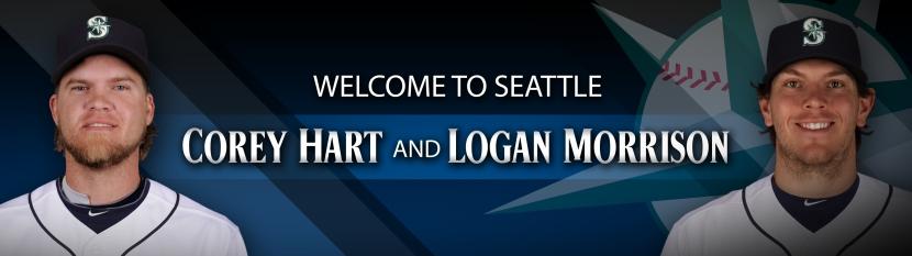 Welcome to Seattle, Corey & Logan.