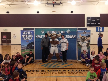Day 1 of the Mariners Caravan.