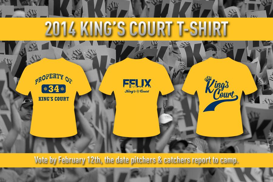 2014 King's Court T-Shirt Vote « From the Corner of Edgar ...