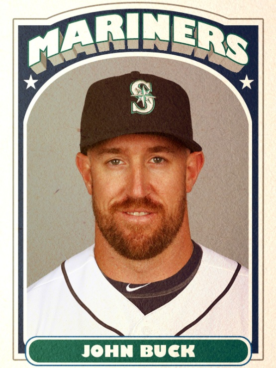 New Mariners Catcher John Buck
