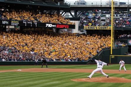Two of Felix's starts from the 2013 season will be featured in tonight's edition of Mariners Monday.