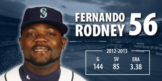 Rodney has 85 saves over the past two seasons with the Rays.