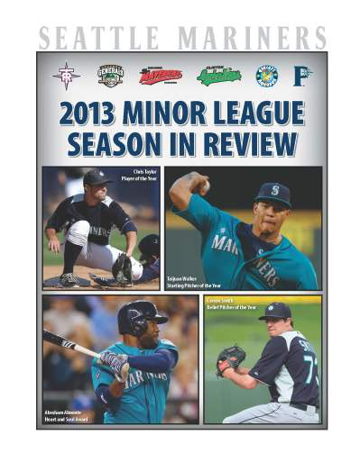2013 MiLB Season in Review Cover