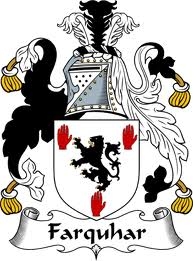 The Farquhar family crest.