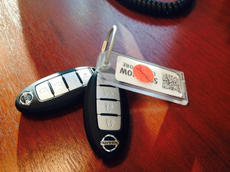 The elusive car keys of Ryan Divish.