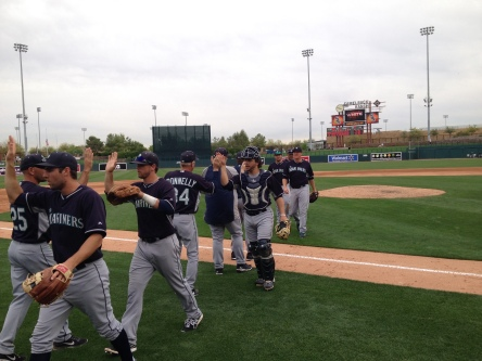 Another Mariners win improved the Cactus League record to 7-2.
