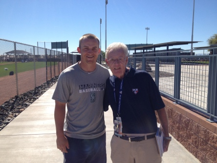 Kyle Seager and Peter Gammons.