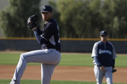 Taijuan Walker is progressing and threw a bullpen this morning.