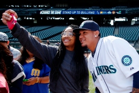 Selfie with King Felix.
