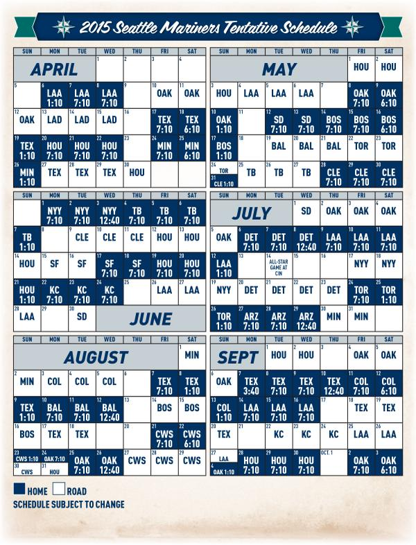Printable Colorado Rockies Schedule 2015 | Calendar Template 2016