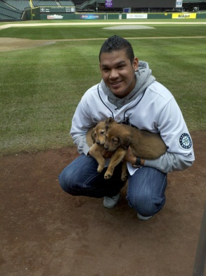 Felix Hernandez is an advocate for the Humane Society for Seattle/King County and appeared in a PSA campaign for the organization.