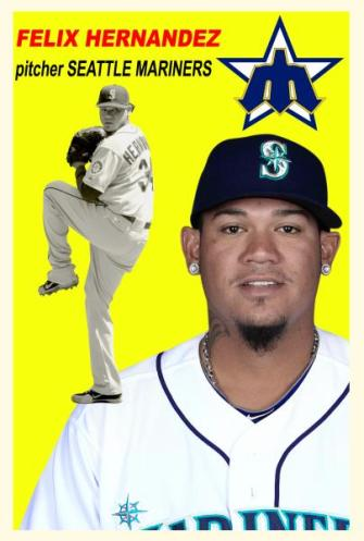 Felix Hernandez was named a Sporting News All-Star.