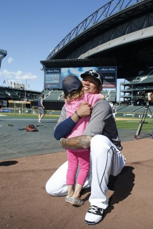 Sophia Robinson of Anchorage, Alaska, fulfilled her wish to meet Felix Hernandez in 2013. He's kept in close touch with the family ever since.